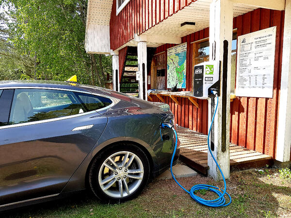 åland electric car charging