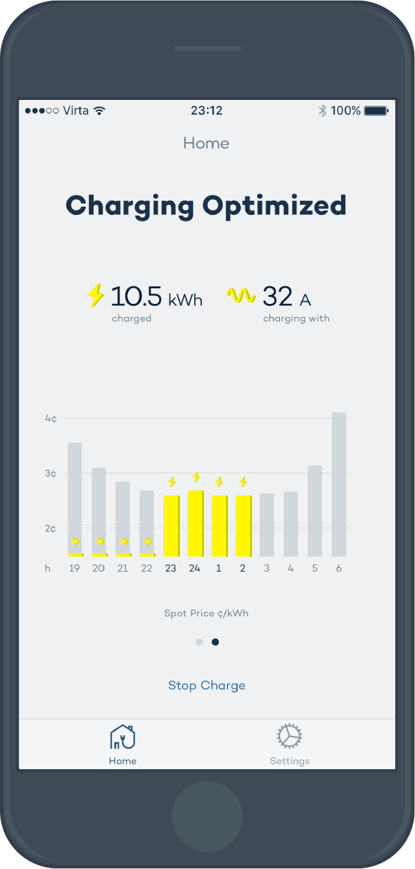Virta Home world smartest home EV charging service.png