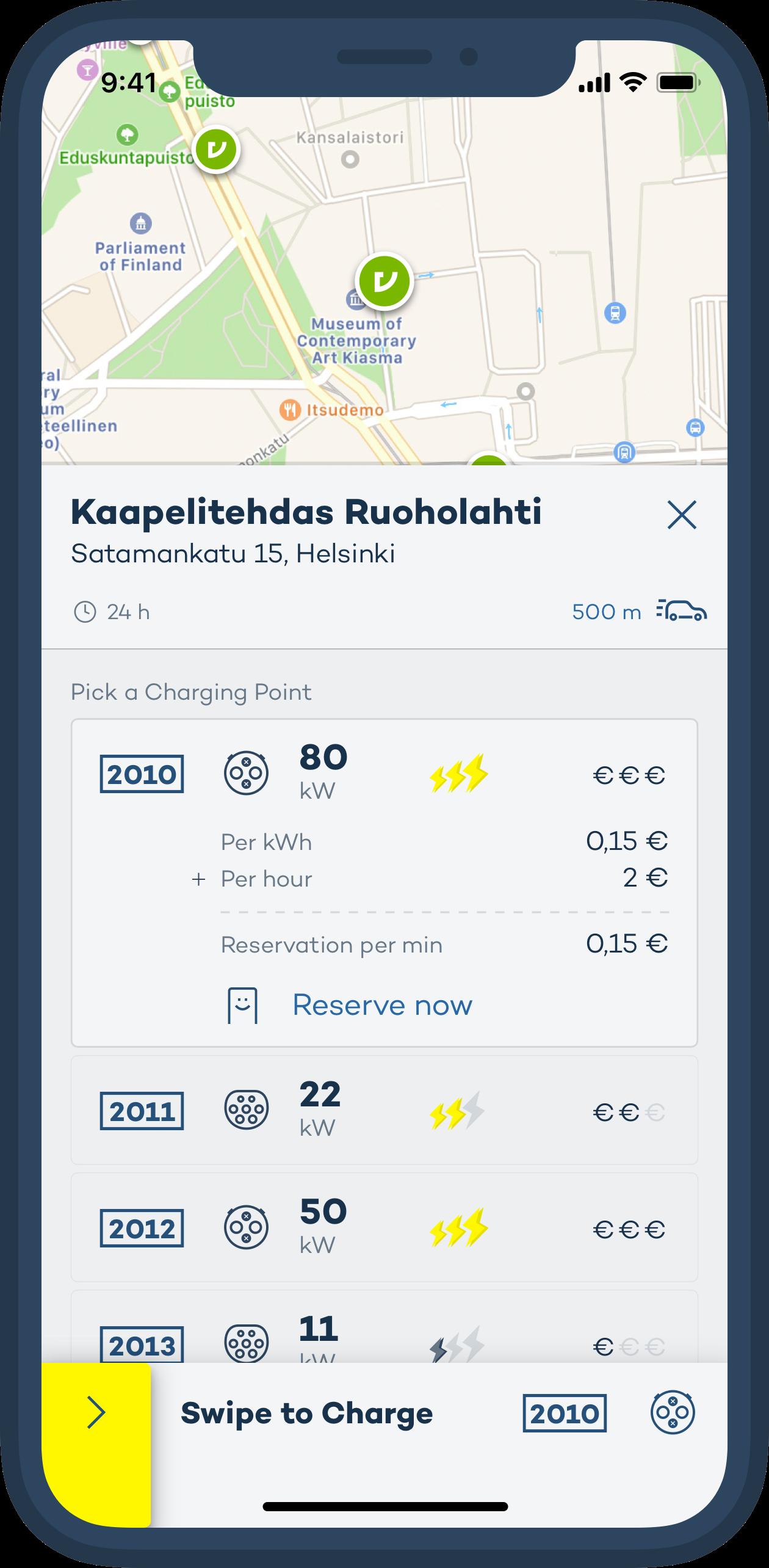 Virta iOS app