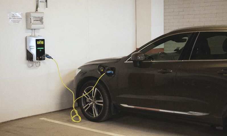 residential building ev charging
