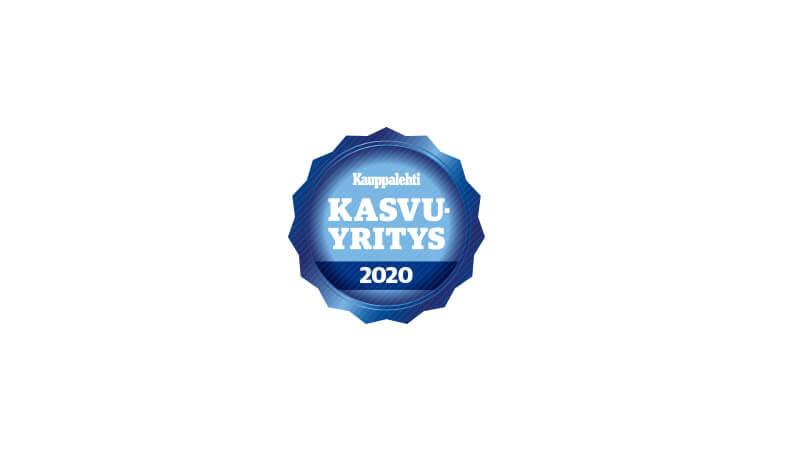 Kauppalehden Kasvaja-sertifikaatti 2020 | Virta