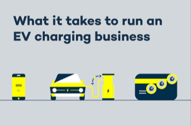 What it takes to run EV charging business E-book