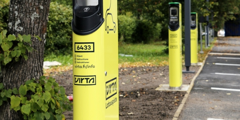 Case Study: Isku Center offering 16 public charging points for employees and visitors